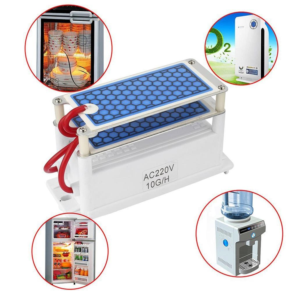 Mini Ozone Generator  Integrated Ceramic Plate Air Ozonizer Machine Sterilizer  Air Purifier Odor Elimination 1 Set