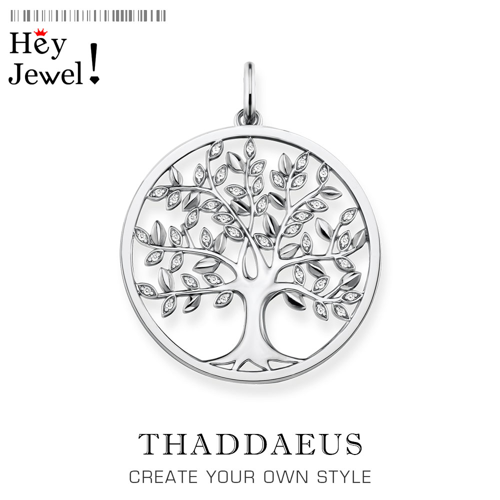 Pendant Tree,2020 Brand New Fashion Romantic Jewelry Thomas Bijoux Accessories 925 Sterling Silver Nature Gift For Ts Woman