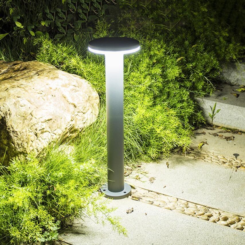 40 60cm outdoor landscape lawn lamp waterproof villa garden courtyard stand pole light modern park community post lamp