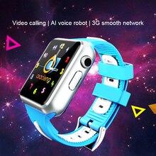 ילדים 3G חכם שעון Wifi מצלמה פייסבוק Whatsapp לבקר את אתר צג אנדרואיד IOS טלפון שעונים v5w/V7W
