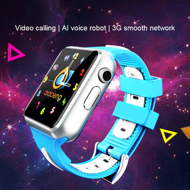 Kids 3G Smart Watch Wifi Camera Facebook Whatsapp Visit the website Monitor Android IOS phone watches v5w/V7W