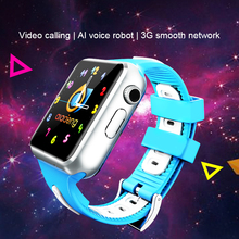 Niños 3G Smart Watch Wifi Cámara Facebook Whatsapp visita el sitio web Monitor Android IOS teléfono relojes v5w/V7W