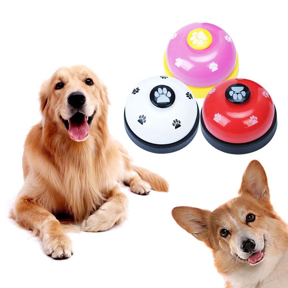 Pet Bell Supplies Trainer Bells Training Cat Dog Toys Dogs Training Treat Bags Dog Training Equipment-1