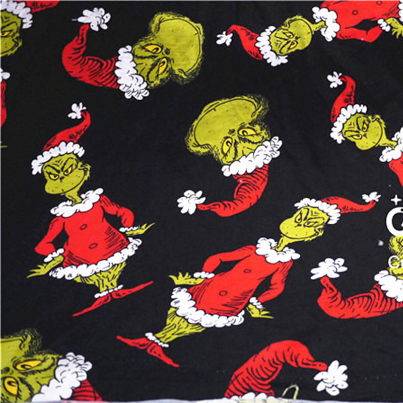 Big Offer 38c0 50 180cm Cotton Lycra Christmas Cartoon Fabric Patchwork Cloth Diy Sewing Quilting Material Handmade Accessories Curtain Bedding Cicig Co