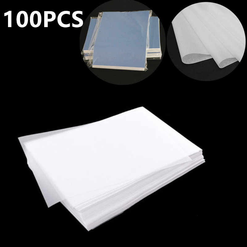 100Pcs Translucent Tracing Paper Calligraphy Craft Writing Drawing Sheet C0E9
