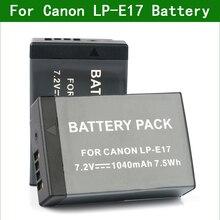 LP E17 LP E17 מצלמה דיגיטלית סוללה עבור Canon EOS 77D 200D 250D 750D 760D 800D 850D 8000D 9000D 200D השני m6 Mark II