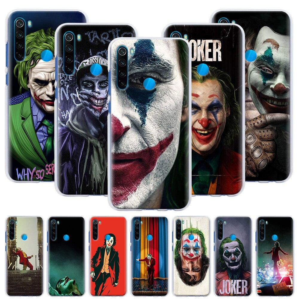 The Joker Movie Phone Case For Xiaomi Redmi Note 6 7 8 8T 9S 9 Pro K30 K20 Pro 6A 7A 8A Hard Back Case Capa