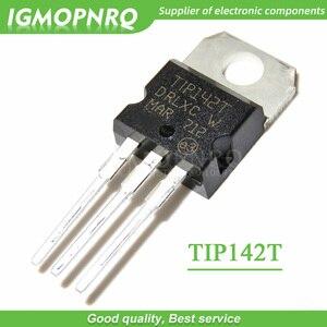 Image 1 - 10PCS TIP142T TIP142 15A/100V דרלינגטון טרנזיסטור כדי 220 NPN חדש מקורי