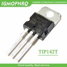10PCS TIP142T TIP142 15A/100V Darlington transistor ZU 220 NPN neue original