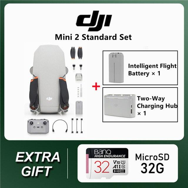 DJI Mavic Mini 2 2pcs batteries + Hub