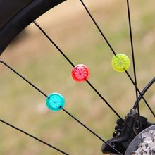 New 2017 Brand New Outdoor Sports Cycling Bicycle Wheel Spokes Light wind and fire wheel Cool Bicycle Light Accessories tanie tanio KH080 Koła szprychy Baterii CE FCC RoHS