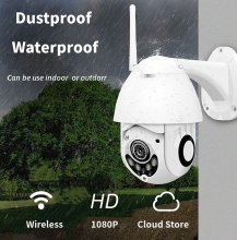 1080P PTZ IP Camera Outdoor Speed Dome Wireless Wifi Security Camera Pan Tilt 4X Zoom IR Network CCTV Surveillance 720P