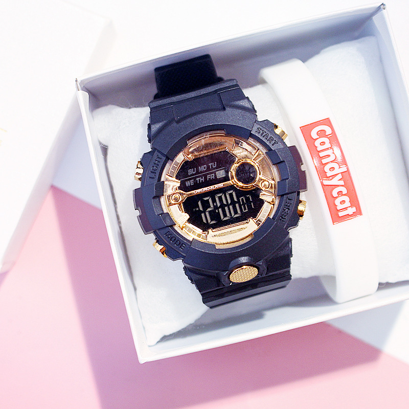 Electronic New G Style Shock Digital Watch Women Sports Watches Waterproof Shockproof Female Clock LED Lady Colorful Wristwatch