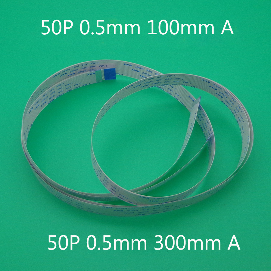 15cm 24Pin 0.5mm 1mm Pitch FFC Flexible Flat Cable Opposite AWM 20624 80C 60V