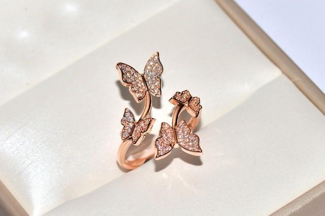 Купить женские кольца с изменяемым размером серебристые цирконом aaaaa