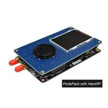 Console 0.5ppm txco de portapack com antena para hackrf um 1 mhz 6 ghz sdr receptor fm ssb ADS B sstv ham rádio C1 007