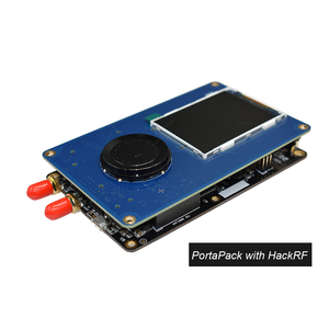 Image 1 - PortaPack קונסולת 0.5ppm TXCO עם אנטנה עבור HackRF אחד 1 MHz 6 GHz SDR מקלט FM SSB ADS B SSTV רדיו חם C1 007