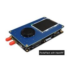 PortaPack consola 0.5ppm TXCO con antena para HackRF 1MHz a 6GHz SDR receptor FM SSB ADS B SSTV radio C1 007