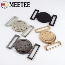 4 шт. Meetee 40 мм Женский металлический ремень пряжки для сумочки аппаратное пальто с пряжками пуговицы «сделай сам» шитье сумок аксессуары для одежды