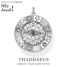 Pendant Amulet Mystical Symbols,2020 Fashion Jewelry Europe Trendy Optimism Accessorie 925 Sterling Silver Gift For Woman Men