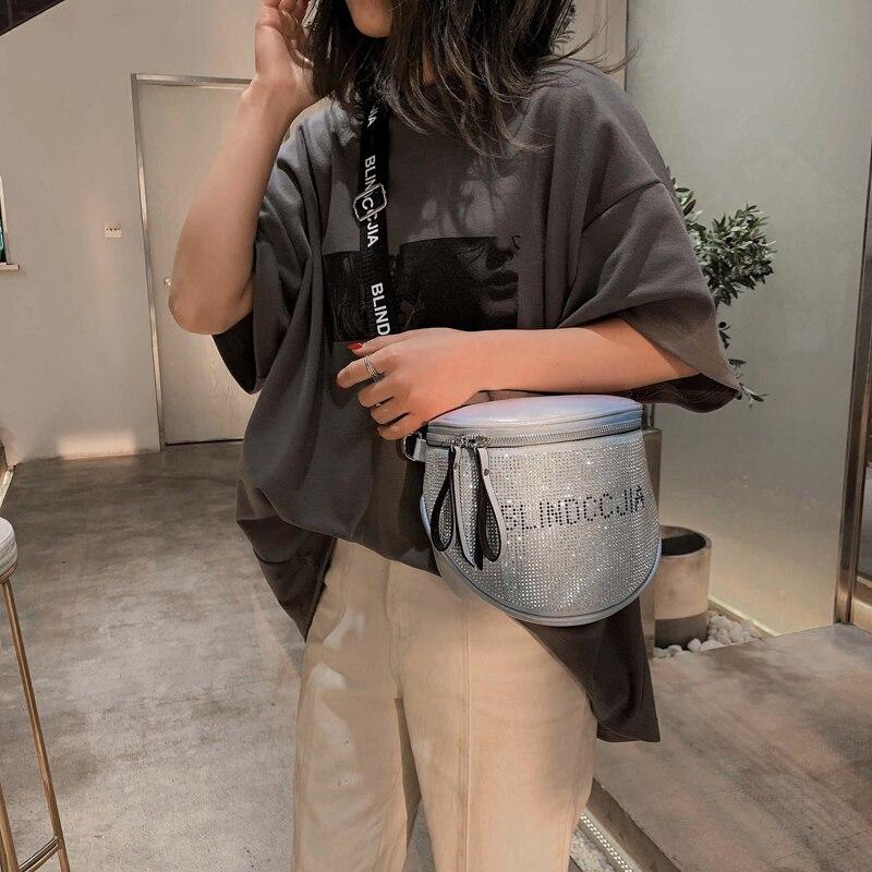 Женская сумка мессенджер блестящие сумки со стразами женские модные мягкие кожаные сумки для женщин 2020 большая женская сумка через плечо|Сумки с ручками|   | АлиЭкспресс