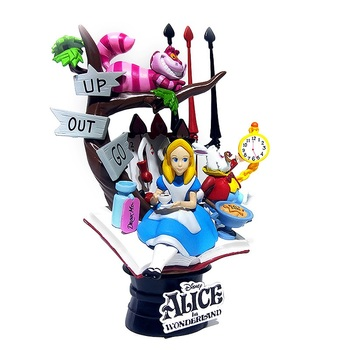 Disney Alice in Wonderland princess 16cm Action Figure Anime Mini Decoration PVC Collection Figurine Toy model for children gift alice q posket characters alice alice in wonderland pvc figure collectible model toy doll 15cm