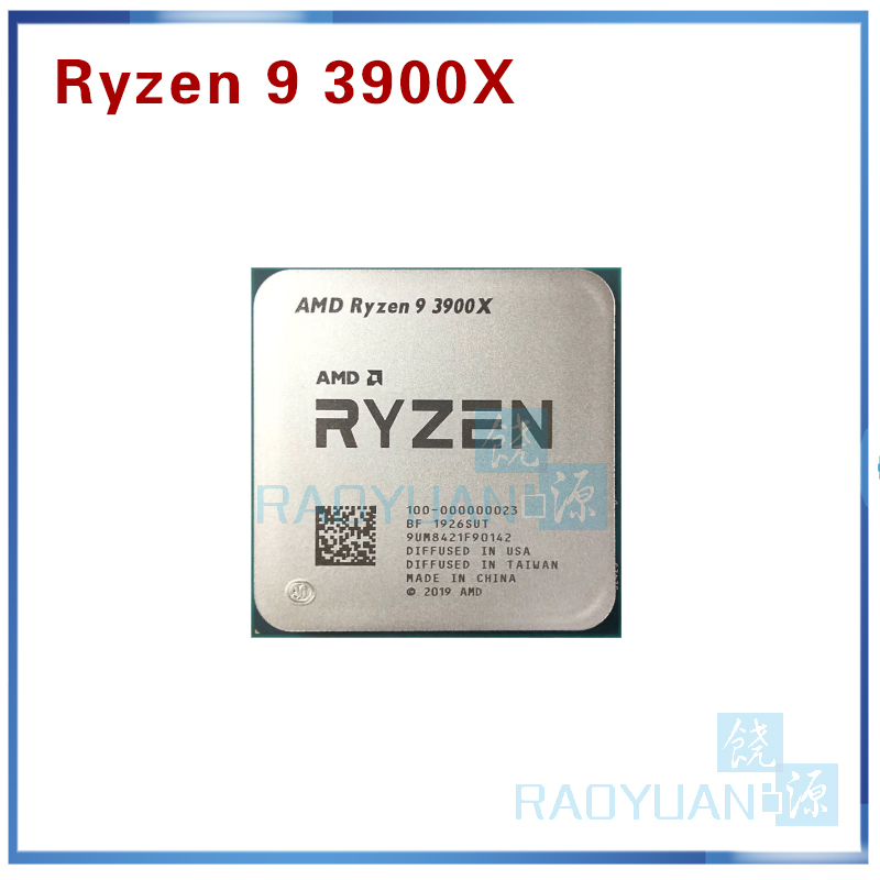 AMD Ryzen 9 3900X R9 3900X 3.8 GHz Twelve-Core 24-Thread CPU Processor 7NM L3=64M 100-000000023 Socket AM4
