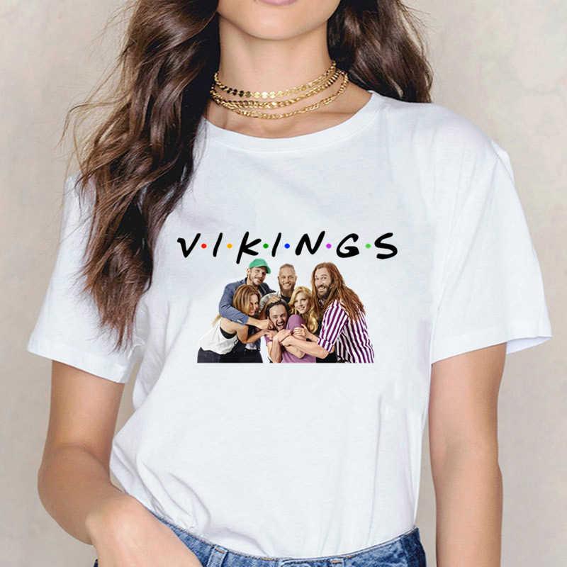 Người Viking Odin Chiến Binh Huyền Thoại Áo Thun Nữ Áo Tee Harajuku Thun Áo Nữ Nữ Quần Áo Thun Nữ
