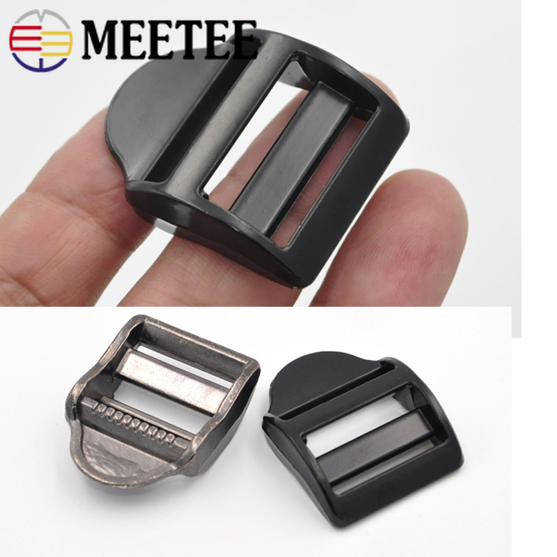 "1.5/"" Movable Sliding Bar 100 Metal Tri-Glide Purse Strap Adjusters Buckles"