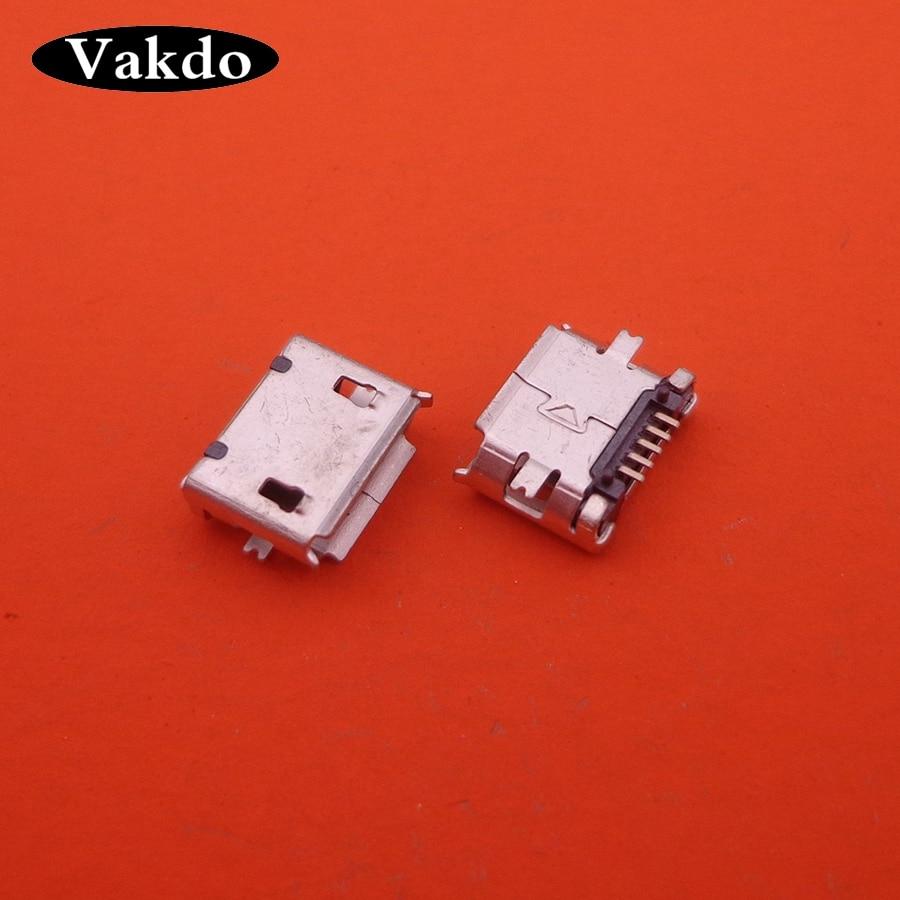 20pcs For ZTE N60 U506 A390E E310 5 Pin Micro Mini USB Connector 5PIN Charging Port Jack Socket Replacement Repair Parts Plug