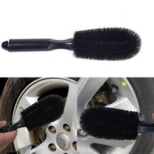 Brush-Tool Wheel-Brush Bicycle Truck Rim-Cleaning Car-Tire for Auto 1pcs Handle Vehicle