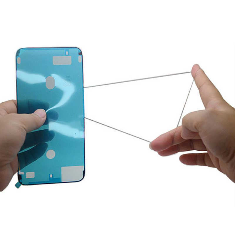 1pcs LCD กรอบซีลเทปกาวกาว 3M อะไหล่ซ่อมสติกเกอร์กันน้ำสำหรับ IPhone 11 X XS MAX XR 6 6 S 7 8 PLUS