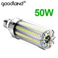Светодиодный E27 кукурузная лампа 50 Вт 35 Вт 25 Вт Светодиодный светильник 110 В 220 В светодиодный светильник E39 E40 большая мощность для наружной п...