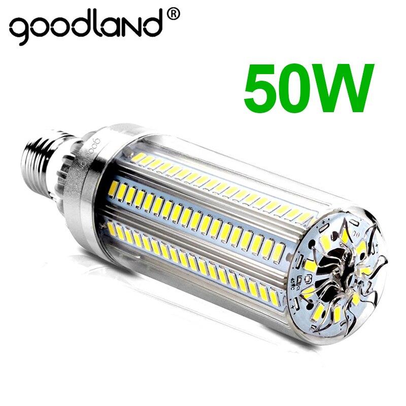 LED E27 Mais Birne 50W 35W 25W LED Lampe 110V 220V Led-lampe E39 E40 große Power Für Outdoor Platz Spielplatz Lager Beleuchtung