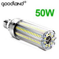Bombilla LED E27 de maíz 50W 35W 25W lámpara LED 110V 220V bombilla LED E39 E40 de gran potencia para iluminación de almacén de patio de juegos al aire libre