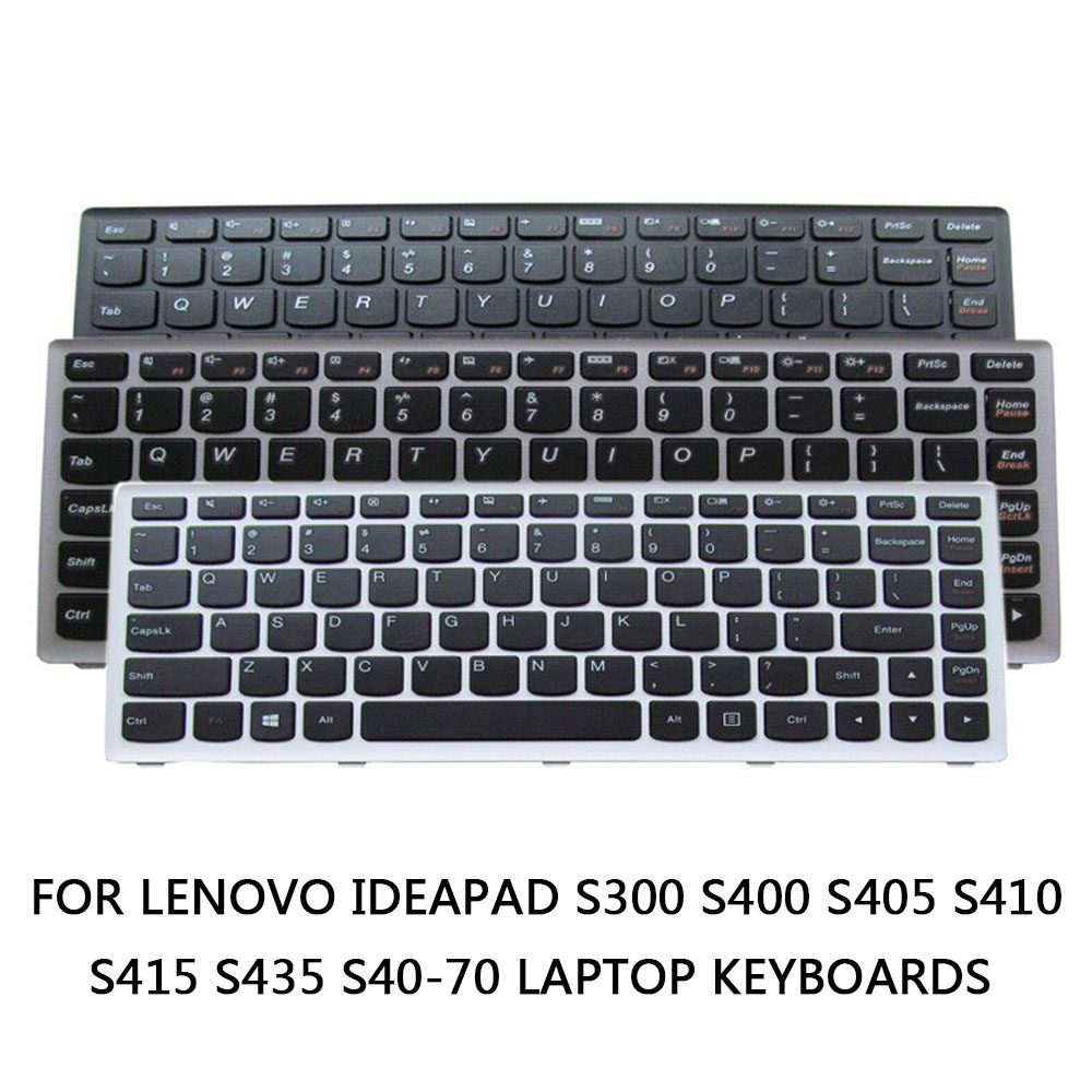 Keyboard Keys Replacement For Lenovo Ideapad S300 S400 S405 S410 S415 S435 S40-70 Laptop Keyboards