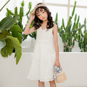 Image 5 - High Quality 2020 New Summer Style Girl Lace Dresses Girls Birthday Clothes 3 16Y Girls Party Dress Princess Clothes CC714