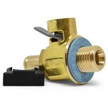 Клапан для слива масла для двигателя FUMOTO F108N, 16 мм/14 ммх 1,5 дюйма, с бесплатной крышкой и зажимом для блокировки, F108N с зажимом для рычага для двигателя серии FN с зажимом для рычага и зажимом для двигателя с LC 10