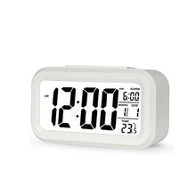 Цифровой светодиодный будильник с подсветкой настольные часы