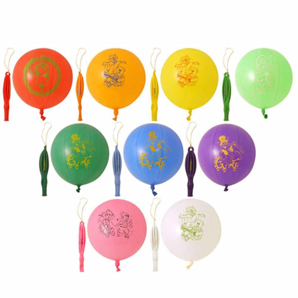 with Rope Punchballs 1pcs Kids Toys Festival Party Supplies Home Decor Punch Balloon Elastic Latex Bouncy Ball
