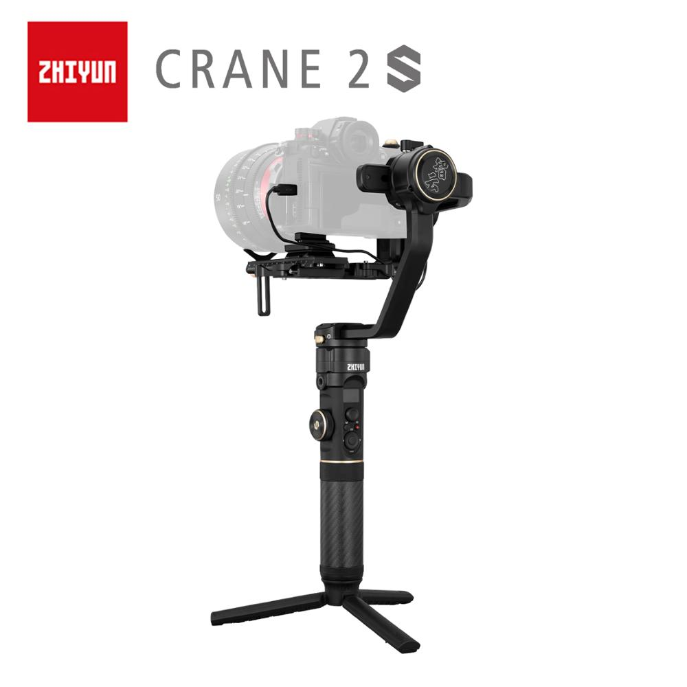 ZHIYUN Offizielle Kran 2S/COMBO/PRO Handheld Stabilisator Kamera Gimbal für DSLR Sony Canon BMPCC Fujifilm Kameras vertikale Schießen