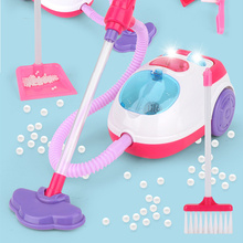 Children'S Simulation Vacuum Cleaner Toy Pretend Toy Cleaning Toy Montessori Early Childhood Education Educational Toy