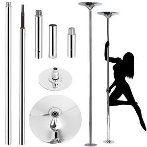 Image 1 - Bastón de Stripper extraíble de 45mm para entrenamiento de baile giratorio 360, portátil, para deporte de baile, fácil de instalar