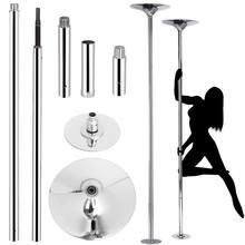 Pole removível para dança doméstica, 45mm, removível, dança esportiva, kit de treino portátil, fácil de dança, 360 instalar