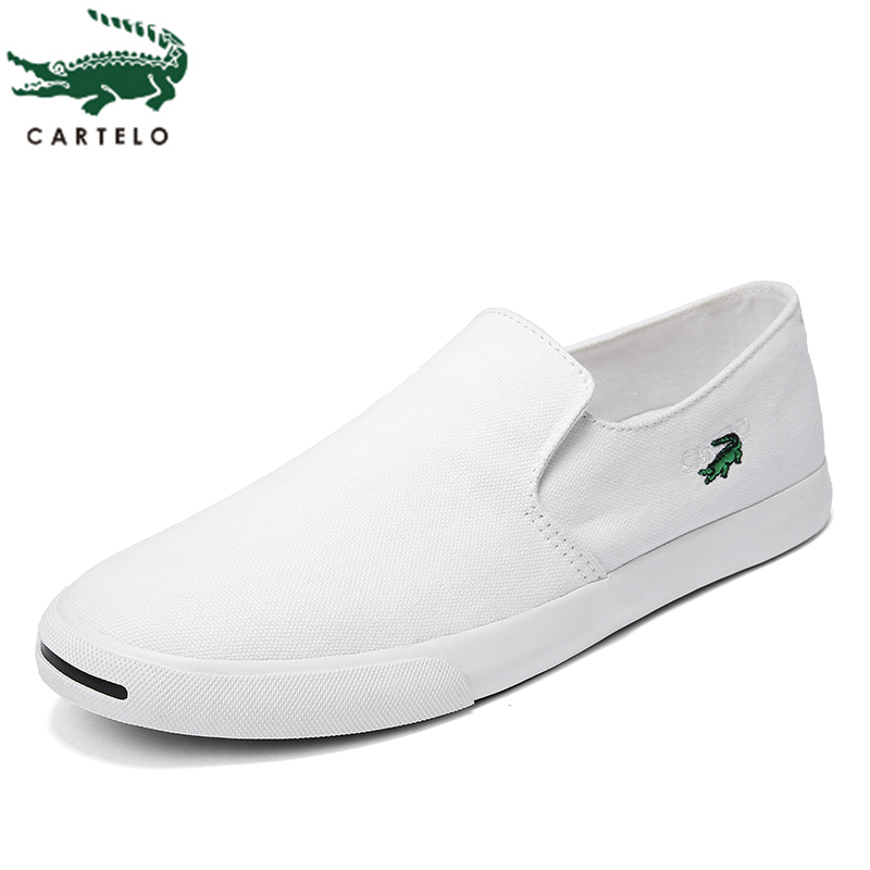 CARTELO men's shoes breathable vulcanized shoes canvas casual sports shoes men's new seasons can be worn