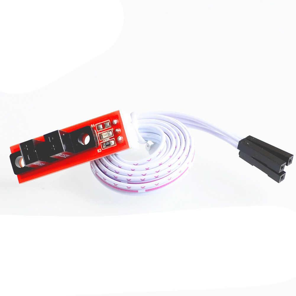 Commutateur de butée finale rampes de CNC 1.4 remplacement de butée finale optique de carte pour les accessoires d'imprimante 3D câble à 3 broches Durable