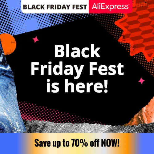AliExpress Black Friday FEST РАЗПРОДАЖБИ
