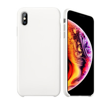 Ultra Thin Case for iPhone X XR XS Max Case Soft Back Cover Case for iPhone 6 6s 7 8 Plus Case Coque Liquid Silicone Rubber Capa стоимость