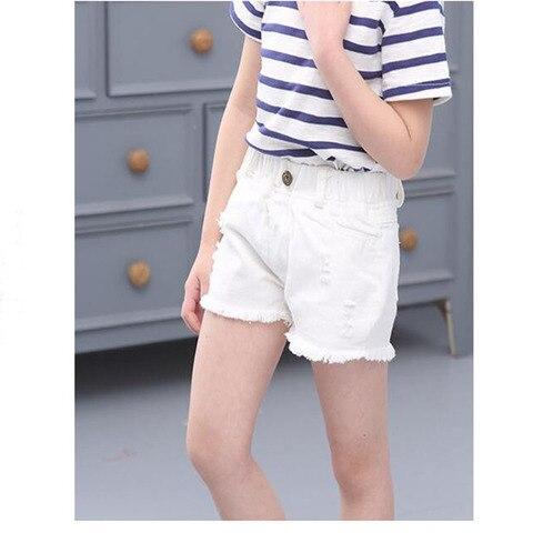 shorts criancas grandes meninas denim shorts meninas algodao curto jeans