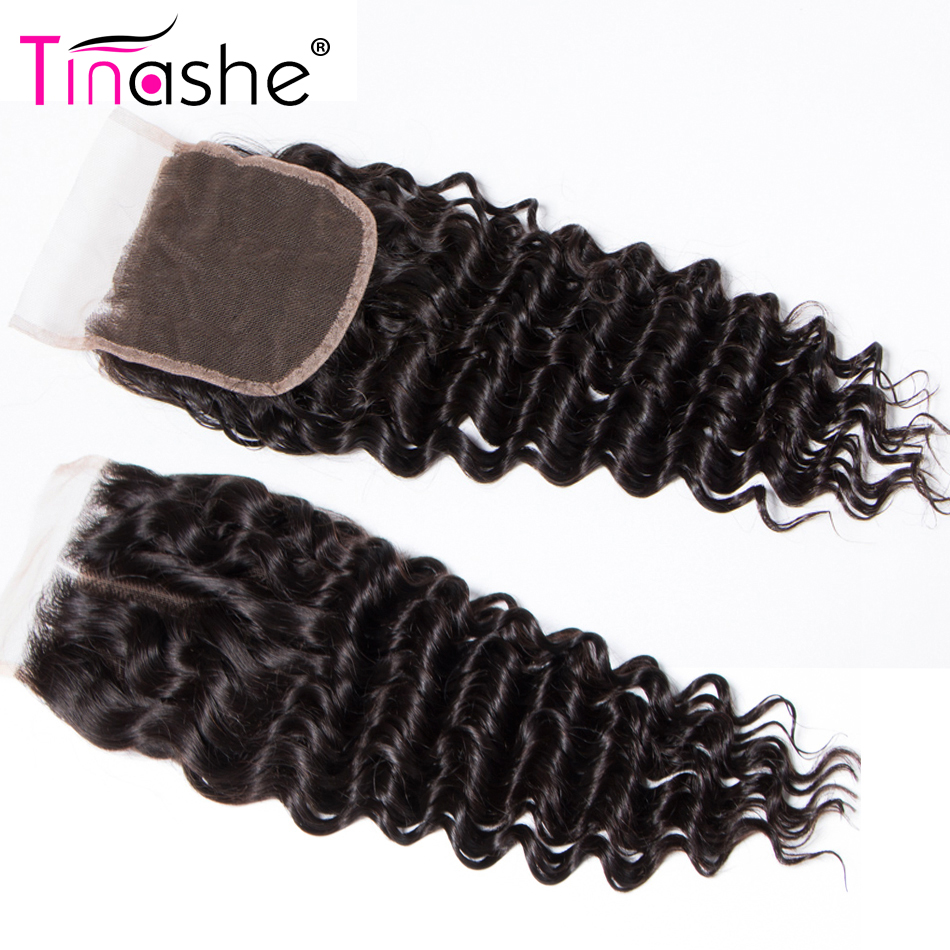 H6b02bb9e54c94b7f94532320271320ecV Tinashe Deep Wave Bundles With Closure 5x5 6x6 Lace Closure And Bundles Remy Brazilian Human Hair Weave 3 Bundles With Closure
